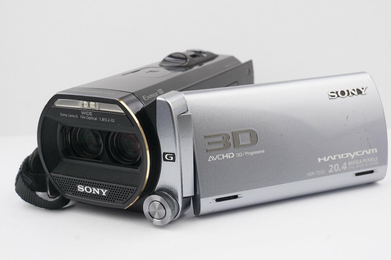Sony HDR-TD20VE 3D Camcorder Handycam +3,5