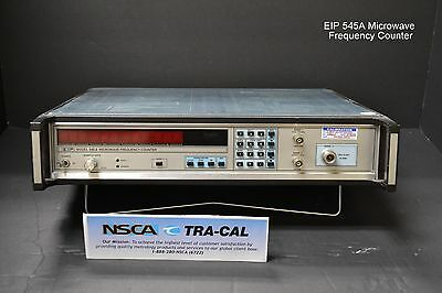 Eip Model 545a Microwave Frequency Counter W Opt. 08