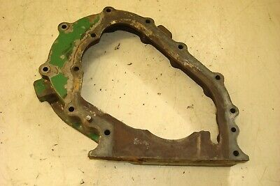 Oliver 1250 Gas Tractor Front Engine Timing Cover Mount Plate