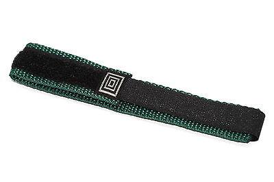 18 20mm black teal nylon adventurer waterproof
