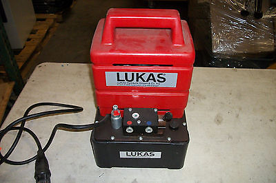 Lukas Hydraulic Power Unit Po-4 D-91058