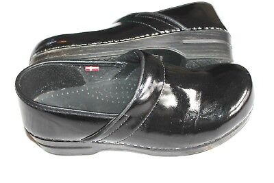 Sanita Acasia Professional Clogs Black Size 42 10.5-11 Smart Step Shoes $140