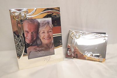 Lenox 50th Anniversary Silver Plated Frame And Photo Album Brand New See - 50th Anniversary Photo Album