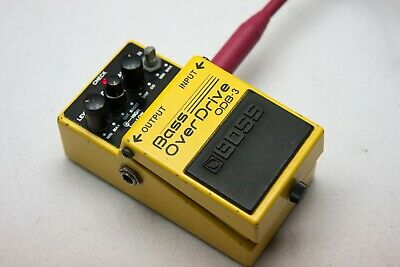 Boss Bass Overdrive ODB-3 Guitar Effects Processor Audio FX Pedal Board Boss Odb 3 Bass Overdrive