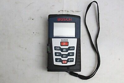 Bosch Glr225 Precision Digital Laser Distance Measuring Tool 230 Ft 70 M Range
