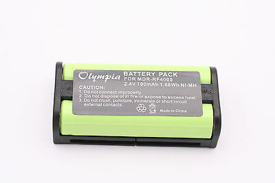 Used, New BP-HP550-11 Battery for Sony MDR-RF4000 MDR-RF4000K Headphones 700mAh USA for sale  Shipping to India