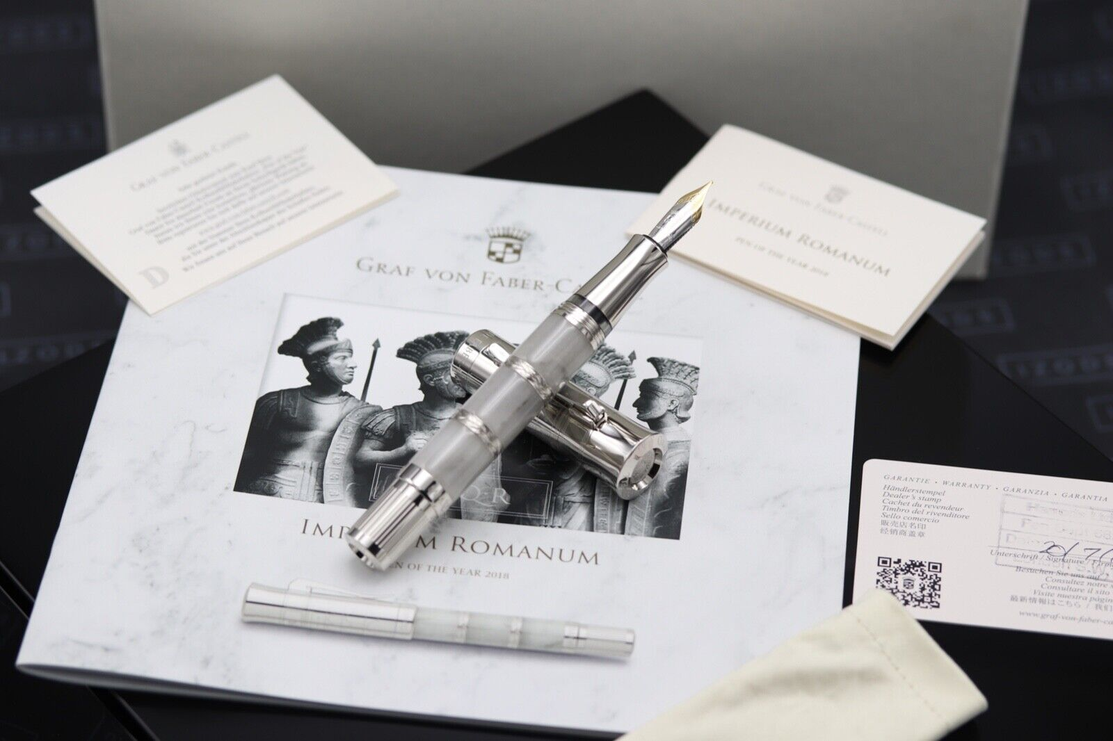 Graf von Faber Castell Pen of the Year 2018 Imperium Romanum LE Fountain Pen
