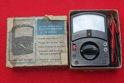 Vintage Micronta Multimeter 22-049