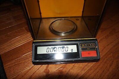 Sartorius Digital Lab Scale Balance Analytical R160d 0.1 Mg Delta Range 160 G R