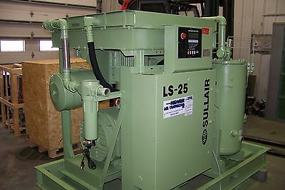 Sullair Ls25 150 Hp. Rotary Screw Air Compressor Full Enclosure Or Open