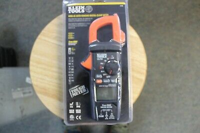 Klein Tools Cl-600 Auto-ranging Digital Clamp Meter Factory Sealed