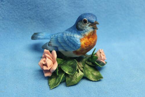 "Lenox "" Eastern Bluebird""  Porcelain Bird Figurine"