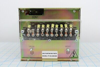 0190-76273 3 Phase Dual Zone Heater200mm Pvd Lamp Driver Amat