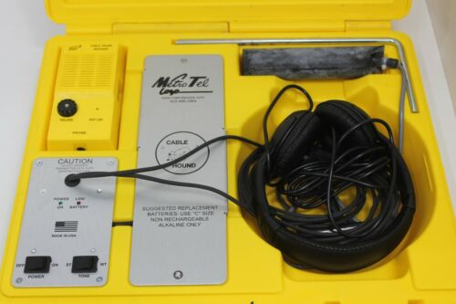 Metro Tel Cable Hound 99-0118 USA Cable & Pipe Locator L399088C-DK