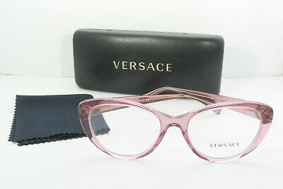 Versace Women's Pink Glasses and case MOD 3246-B 5234 (Pink Versace Glasses)