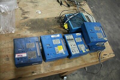 Gilian Hi-flow Air Sampler Hfs 113a Blue Set Of 5 W Charger