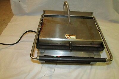 Sodir Equipex Panini Sandwich Press 14 Inches Plate Good Condition