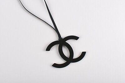 CHANEL  Beaute VIP gift  Ornament Charm Plastic Black color Rare