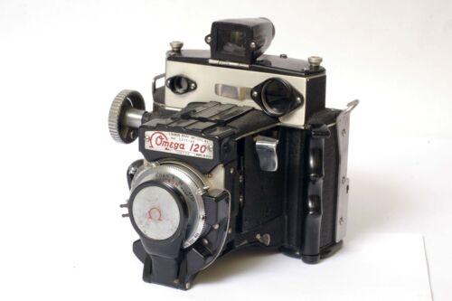 F97010~ Omega 120 Medium Format 120 Film Camera & Strap - Working