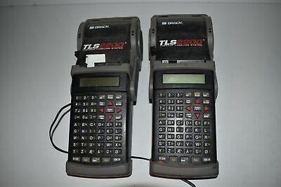 Brady Tls2200 Thermal Labeling System - Lot Of 2 Yq37