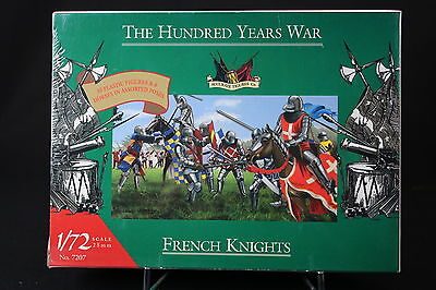 XJ176 ACCURATE FIGURES 1/72 figurine 7207 THE HUNDRED YEARS WAR French Knights