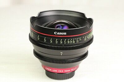 Canon Cinema Prime CN-E 14mm T3.1 L F (EF Mount) Lens - MINT
