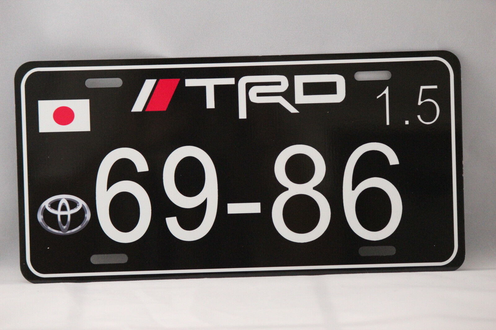 "TRD  JDM Japanese LICENSE PLATE 6x12/"""