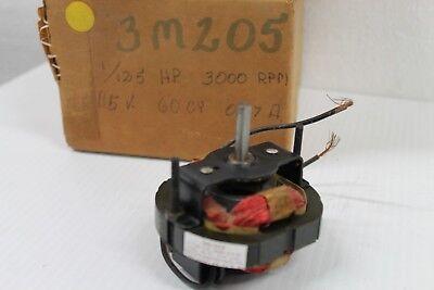 Dayton Electric Motor - 1125hp - 115v - 3000rpm - 3m205 - Nos