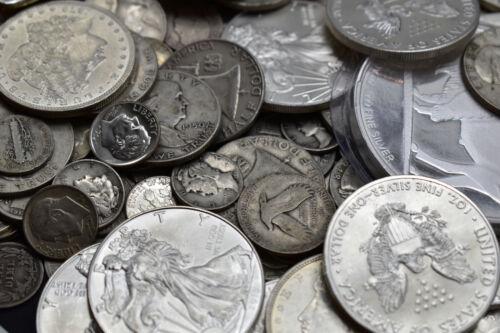 OLD SILVER US COINS BARB BULLION MASSIVE ESTATE SALE MIXED LOT HOARD ARROWHEADS!