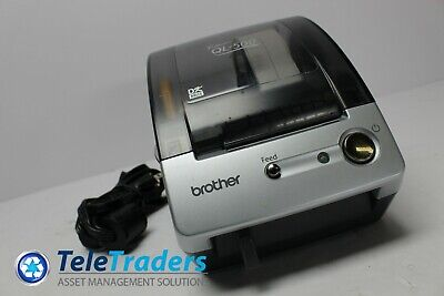 Brother P-touch Ql-500 Thermal Label Printer W Labels