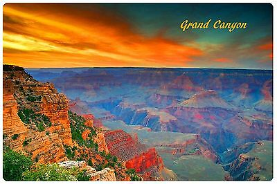 Refrigerator Fridge Magnet Grand Canyon Usa America Vinyl Photo Educational