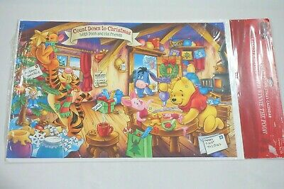Winnie the Pooh Countdown to Christmas Hallmark Advent Calendar