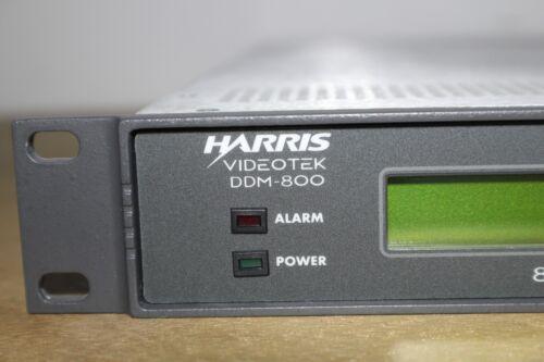 HARRIS VIDEOTEK DDM-800 8VSB FREQUENCY AGILE DIGITAL DEMODULATOR