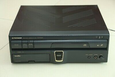 Pioneer CLD-A100 Laser Active LD,CD Laser Disc Player Console NTSC