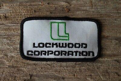 Vintage Lockwood Corporation Gering Nebraska Trucker Hat Jacket Uniform Patch