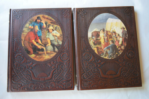 Time Life The Old West 2 Vol; The Forty-niners & The Pioneers