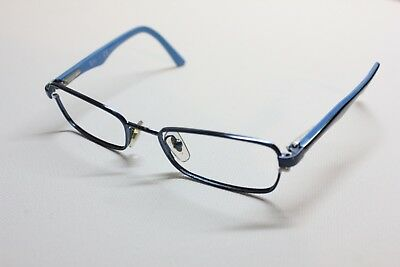 FOR PARTS Ray Ban Eyeglasses RB 1027 4000 45[]16 125 Blue Metal Frame (Ray Bans Glasses For Kids)