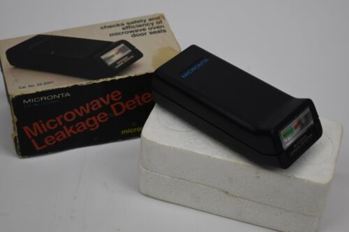 Handheld Analog Microwave Leak Monitor Radiation Detector Micronta 22-2001