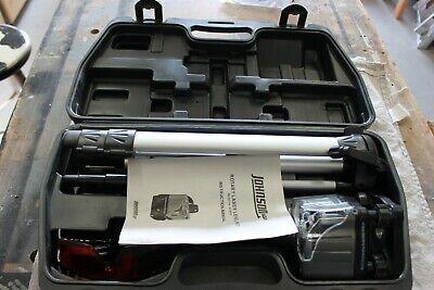 Johnson Rotary Laser Level Kit Wtripod Glasses Case. Model 40-0918