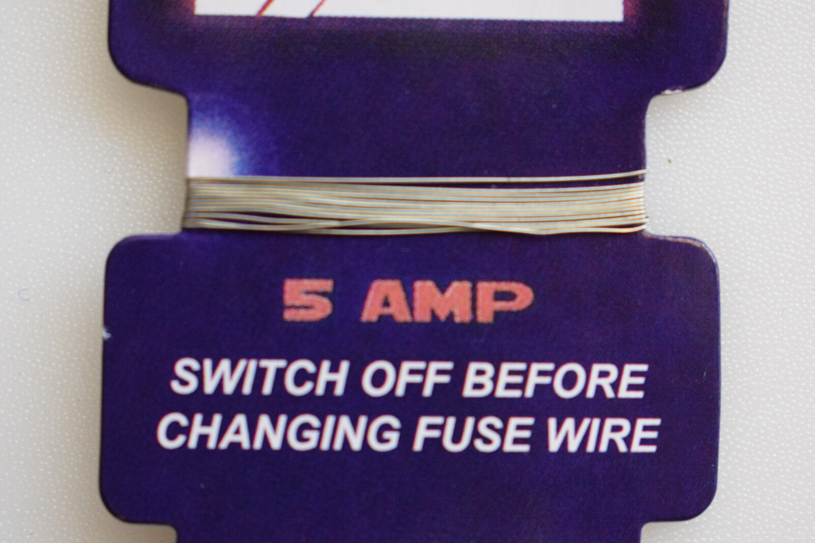 Lyvia Card Of 5 Amp 15 30 Fuse Wire For Consumer Box 2