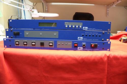 DTS Digital Surround CAE-4, CAD-4, E175-01 Mastering Encoder / Decoder set