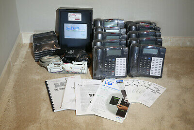 Esi Ivx-e-class Generation Ii Digital Phone System With Voice Mail 10 Phones