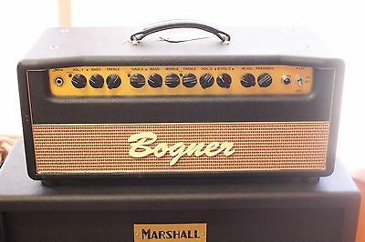 Купить Bogner Shiva - Bogner USA Shiva EL34 Tube Amplifier Guitar Amp Head