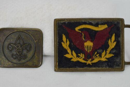 Boy Scout Vintage Belt Buckles-RARE Patch-A-Belt Buckle