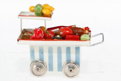 AC1856: Vintage Kibri Gauge 0/1 Loaded Food Serving Trolley