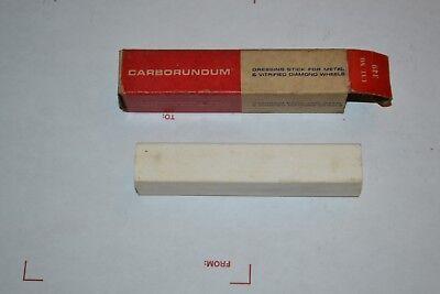 Vintage Carborundum Dressing Stick For Metal Vitrified Diamond Wheels