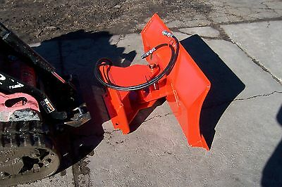 New 56 4 Way Dozer Blade Plow For Mini Skid Steer Fits Dingo Ditch Witchxt850
