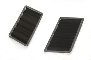 BMW E36 Side Hood Vents Louver Heat Extractor 1992-1999 M3 3-Series (2-pieces)