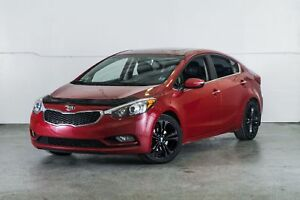 2014 Kia Forte SX w/ Nav & Leather Finance for $42 Wkly OAC
