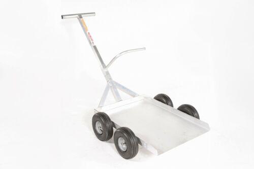 Alumacart Aluminum Landscape Cart-Large Material Handling-Heavy Duty- USA MADE!